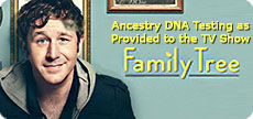 As Provided to ITV Drama Production for Use in the 'Family Tree' Paternity Test Storyline